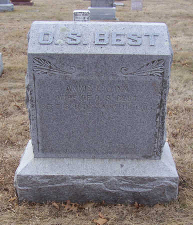 BEST, ANNIE L. - Shelby County, Iowa | ANNIE L. BEST