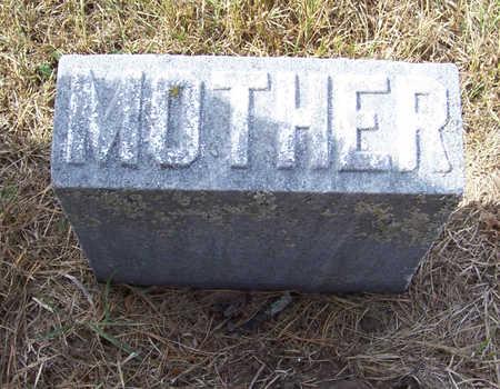 BEST, EUTA (MOTHER) - Shelby County, Iowa   EUTA (MOTHER) BEST