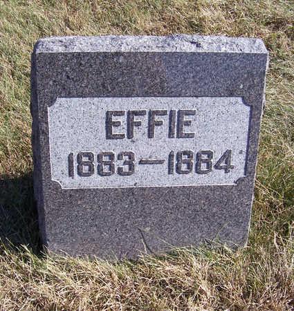 BEST, EFFIE - Shelby County, Iowa   EFFIE BEST