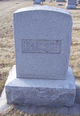 BEST, EMMA A. (LOT) - Shelby County, Iowa | EMMA A. (LOT) BEST