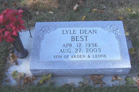 BEST, LYLE DEAN - Shelby County, Iowa | LYLE DEAN BEST