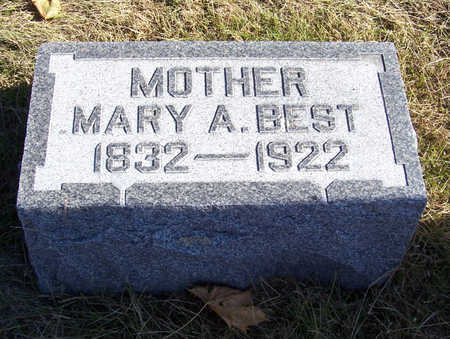 BEST, MARY A. (MOTHER) - Shelby County, Iowa | MARY A. (MOTHER) BEST