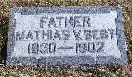 BEST, MATHIAS V. (FATHER) - Shelby County, Iowa   MATHIAS V. (FATHER) BEST