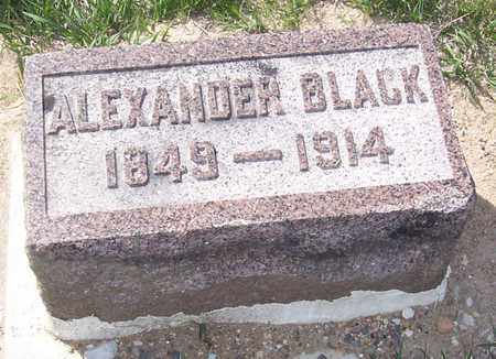 BLACK, ALEXANDER - Shelby County, Iowa | ALEXANDER BLACK