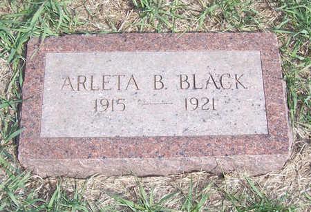 BLACK, ARLETA B - Shelby County, Iowa | ARLETA B BLACK