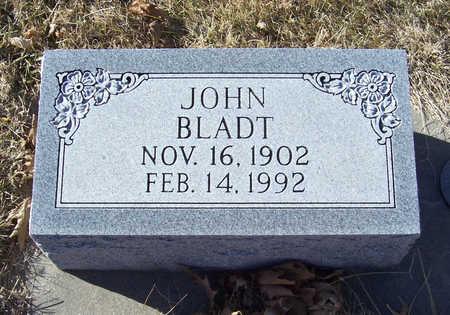 BLADT, JOHN - Shelby County, Iowa   JOHN BLADT