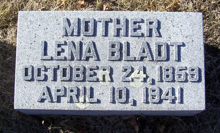 BLADT, LENA (MOTHER) - Shelby County, Iowa | LENA (MOTHER) BLADT