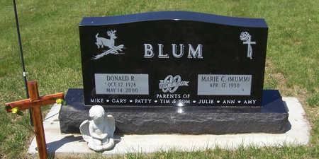 BLUM, DONALD R. - Shelby County, Iowa | DONALD R. BLUM