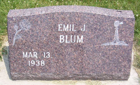 BLUM, EMIL J. - Shelby County, Iowa | EMIL J. BLUM
