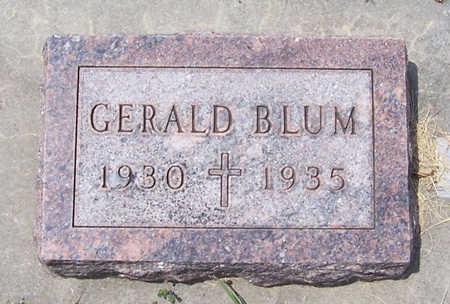 BLUM, GERALD - Shelby County, Iowa | GERALD BLUM