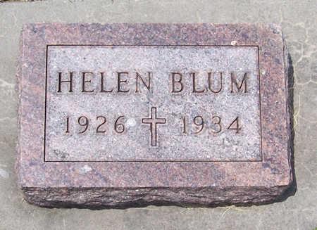 BLUM, HELEN - Shelby County, Iowa | HELEN BLUM