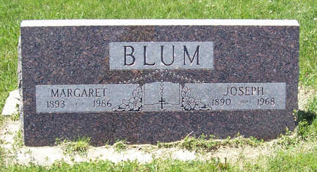BLUM, MARGARET - Shelby County, Iowa | MARGARET BLUM