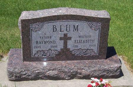 BLUM, ELIZABETH - Shelby County, Iowa | ELIZABETH BLUM