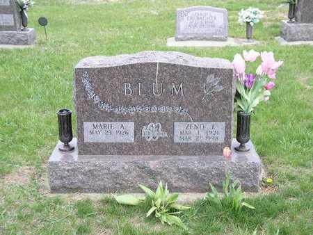 BLUM, MARIE - Shelby County, Iowa | MARIE BLUM