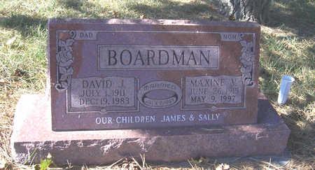 BOARDMAN, DAVID J. - Shelby County, Iowa | DAVID J. BOARDMAN