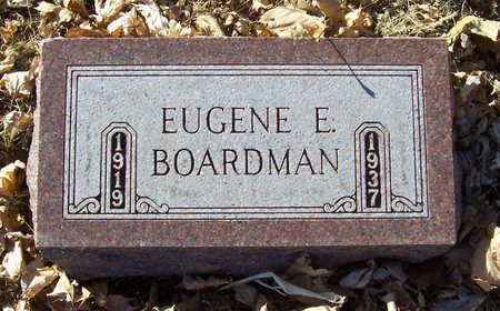 BOARDMAN, EUGENE E. - Shelby County, Iowa | EUGENE E. BOARDMAN