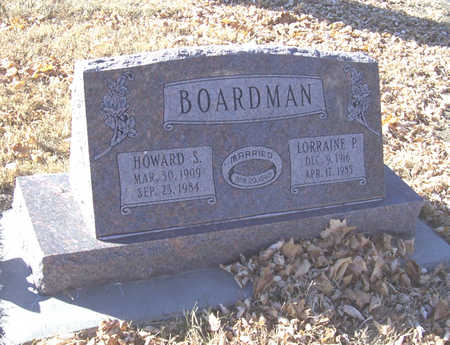 BOARDMAN, HOWARD S. - Shelby County, Iowa | HOWARD S. BOARDMAN