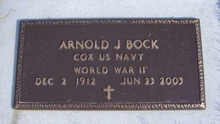 BOCK, ARNOLD J. (MILITARY) - Shelby County, Iowa | ARNOLD J. (MILITARY) BOCK