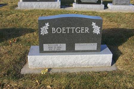 BOETTGER, WILLIAM ALFRED - Shelby County, Iowa | WILLIAM ALFRED BOETTGER