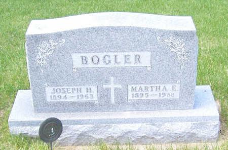 BOGLER, MARTHA E. - Shelby County, Iowa | MARTHA E. BOGLER