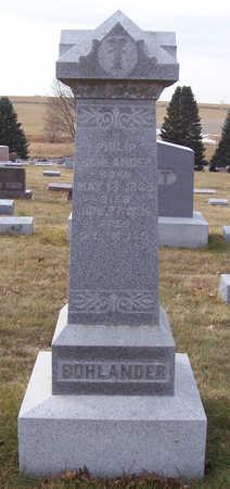 BOHLANDER, PHILIP - Shelby County, Iowa   PHILIP BOHLANDER