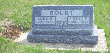ANDERSEN BOLDT, ANNA MARGRETTA - Shelby County, Iowa   ANNA MARGRETTA ANDERSEN BOLDT