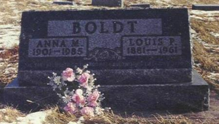 BOLDT, ANNA M. AND LOUIS P. - Shelby County, Iowa | ANNA M. AND LOUIS P. BOLDT