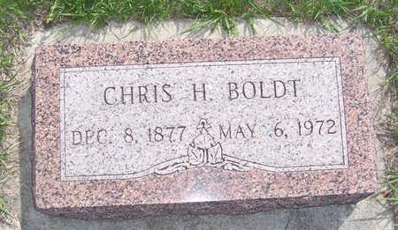 BOLDT, CHRIS H. - Shelby County, Iowa | CHRIS H. BOLDT