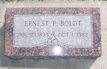 BOLDT, ERNEST P. - Shelby County, Iowa   ERNEST P. BOLDT
