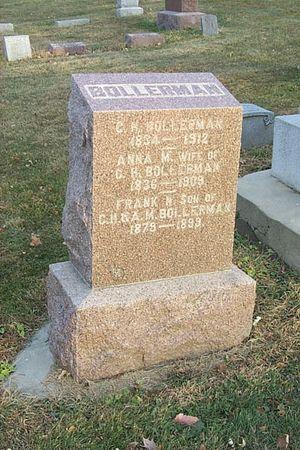 BOLLERMAN, ANNA M. - Shelby County, Iowa | ANNA M. BOLLERMAN