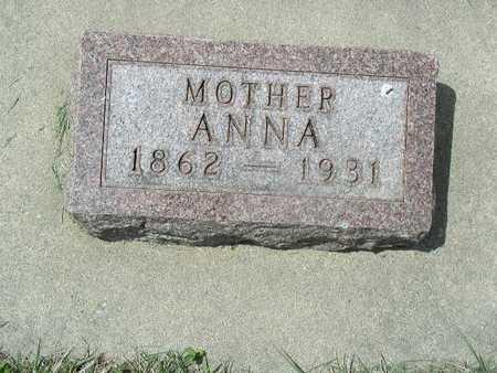 BOOK, ANNA - Shelby County, Iowa   ANNA BOOK