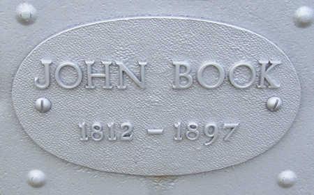 BOOK, JOHN (CLOSE UP) - Shelby County, Iowa | JOHN (CLOSE UP) BOOK