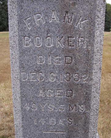 BOOKER, FRANK - Shelby County, Iowa | FRANK BOOKER