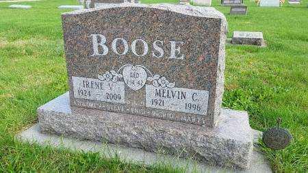 PEITERSEN BOOSE, IRENE V. - Shelby County, Iowa | IRENE V. PEITERSEN BOOSE