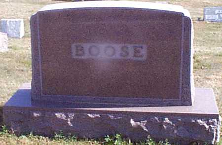 BOOSE, NELS J - Shelby County, Iowa | NELS J BOOSE
