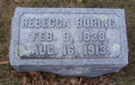 BORING, REBECCA - Shelby County, Iowa   REBECCA BORING
