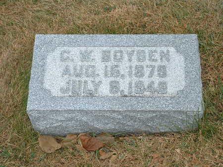 BOYSEN, C W - Shelby County, Iowa   C W BOYSEN