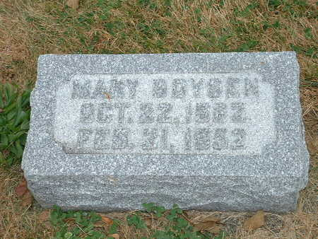 BOYSEN, MARY - Shelby County, Iowa | MARY BOYSEN
