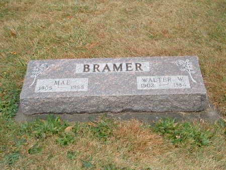 BRAMER, WALTER W. - Shelby County, Iowa | WALTER W. BRAMER