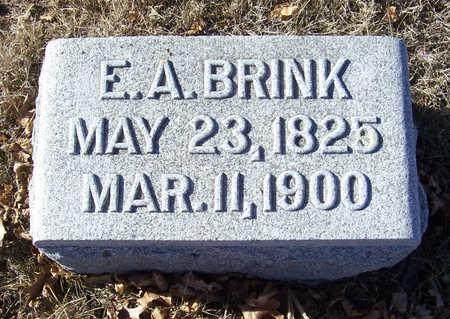 BRINK, E. A. - Shelby County, Iowa   E. A. BRINK