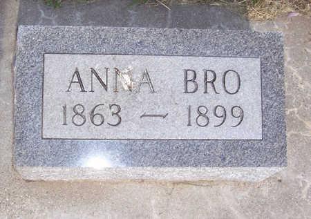BRO, ANNA - Shelby County, Iowa | ANNA BRO