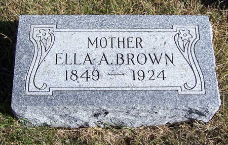 BROWN, ELLA A. (MOTHER) - Shelby County, Iowa | ELLA A. (MOTHER) BROWN