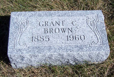 BROWN, GRANT C. - Shelby County, Iowa | GRANT C. BROWN