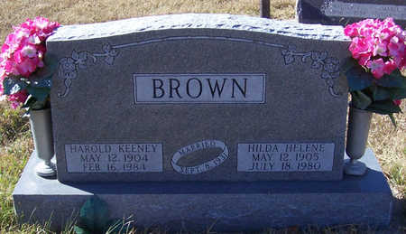 BROWN, HAROLD KEENEY - Shelby County, Iowa | HAROLD KEENEY BROWN