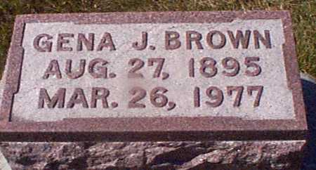 BOOSE BROWN, JENA JEORENA - Shelby County, Iowa | JENA JEORENA BOOSE BROWN