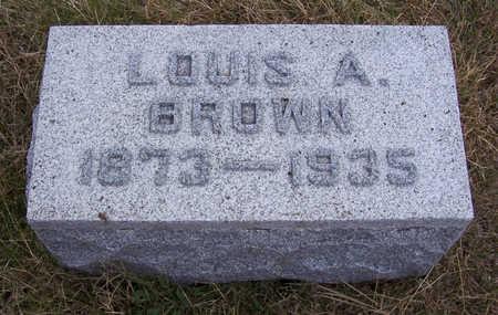 BROWN, LOUIS A. - Shelby County, Iowa   LOUIS A. BROWN