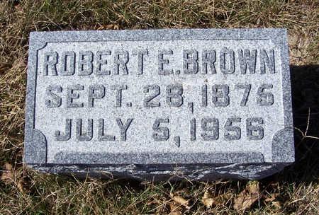BROWN, ROBERT E. - Shelby County, Iowa | ROBERT E. BROWN