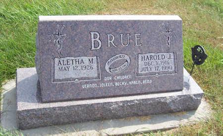 BRUE, ALETHA M. - Shelby County, Iowa | ALETHA M. BRUE