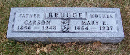 BRUGGE, MARY E. (MOTHER) - Shelby County, Iowa | MARY E. (MOTHER) BRUGGE