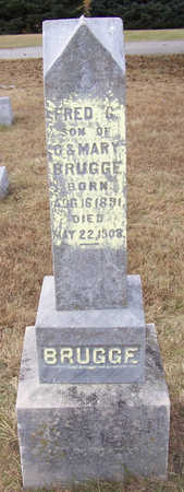 BRUGGE, FRED C. - Shelby County, Iowa   FRED C. BRUGGE